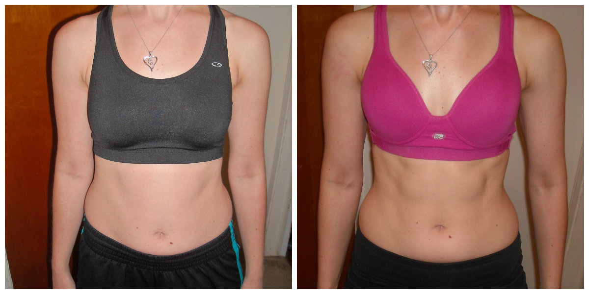 February, 2012 (left); June, 2012 (right)